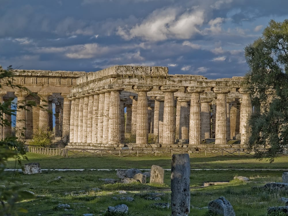 Paestum, easy to get to from Salerno, Italy