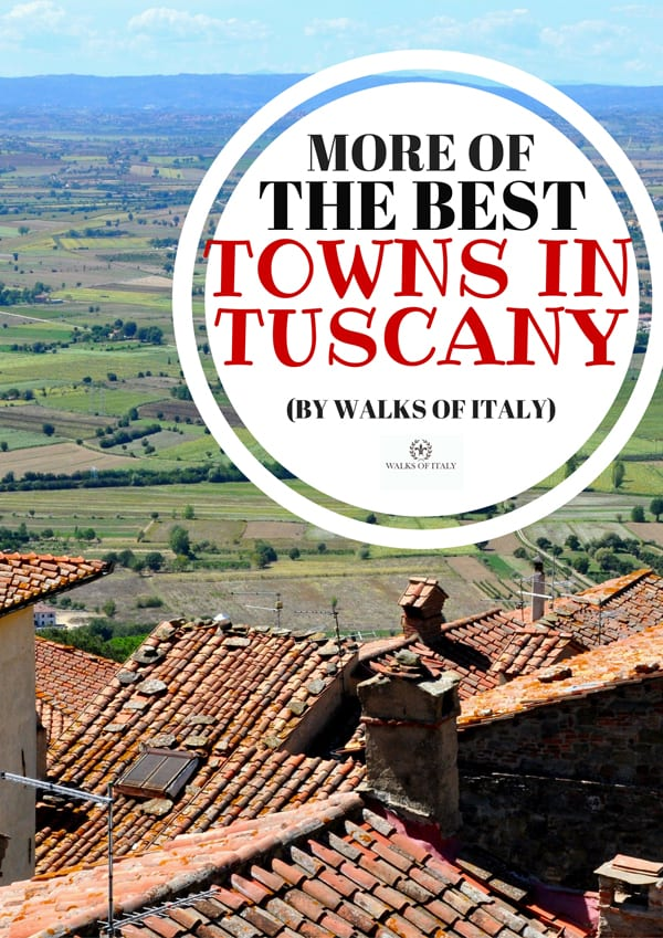 The view over the rooftops of Cotrona is one of the best in Tuscany. Find out our pics for the best towns in Tuscany on the Walks of Italy blog.