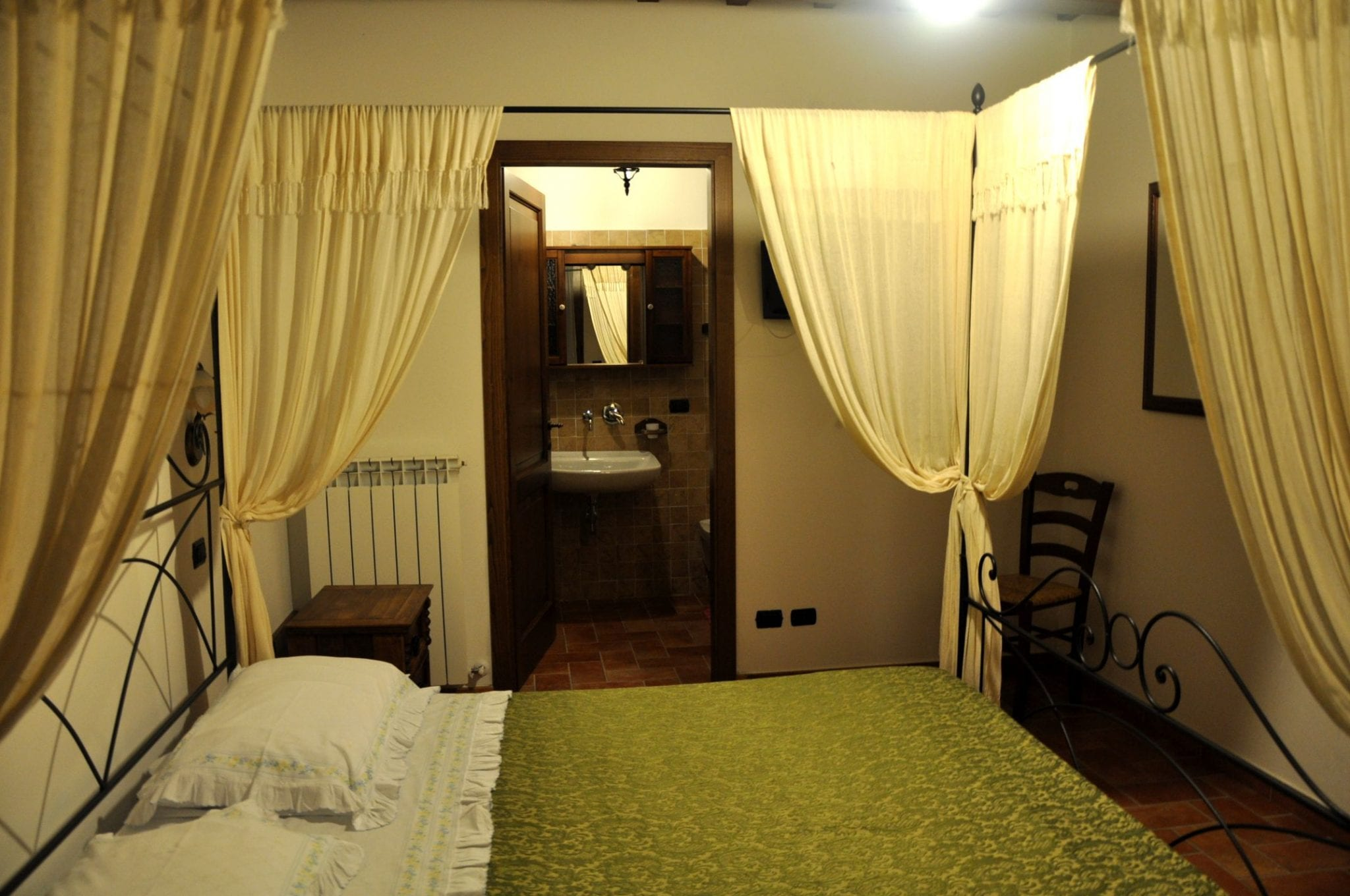 Accommodation at an Italian farm-stay