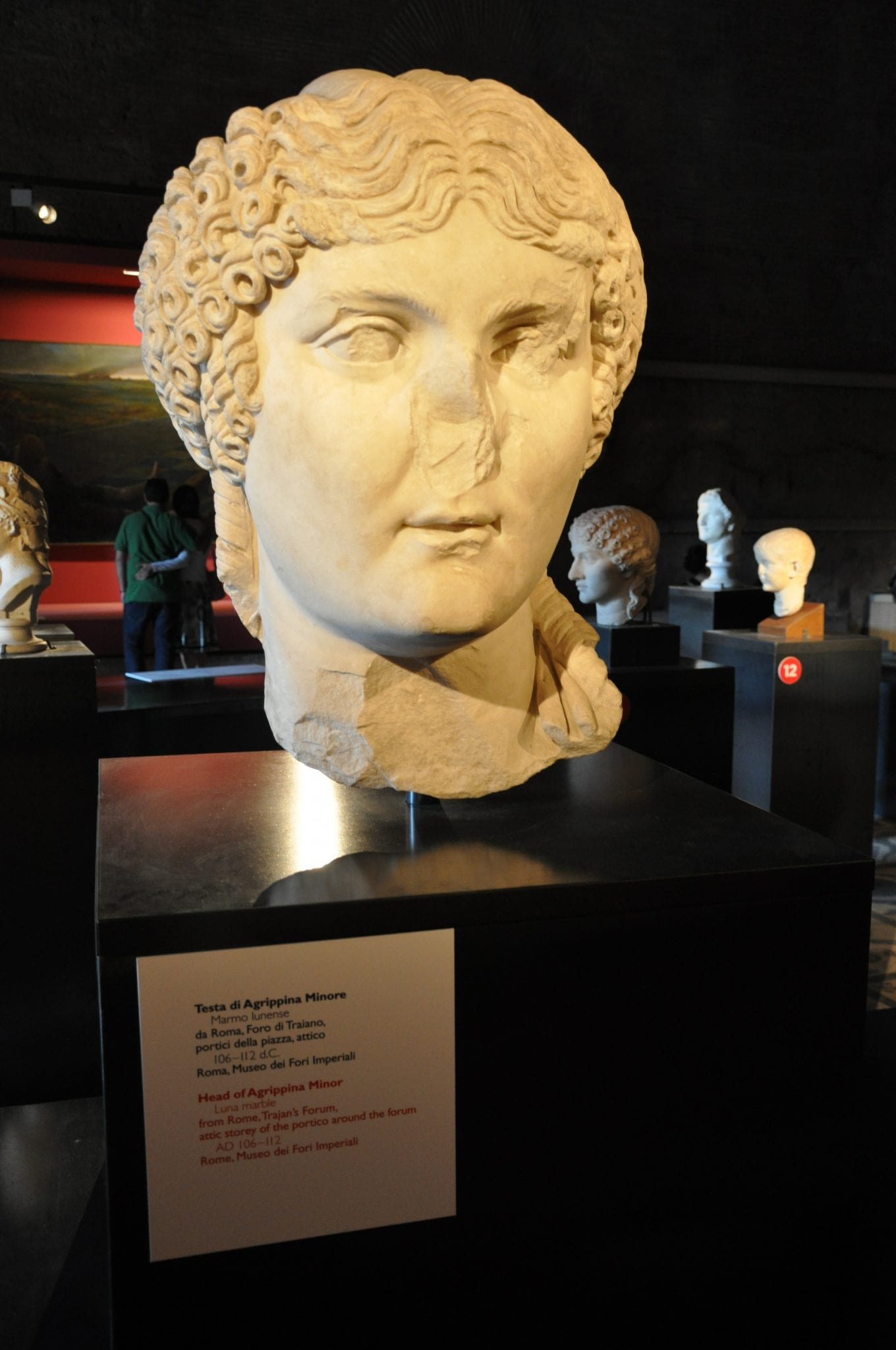 The mother of Nero, one of the worst Roman emperors