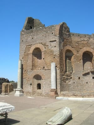 The villa of Commodus, one of the wackiest Roman emperors