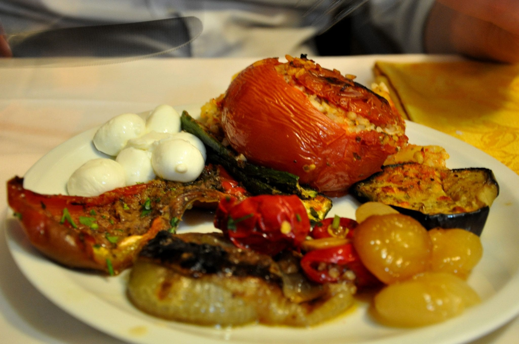 Go for the vegetable contorni or antipasti if you're on a restricted diet
