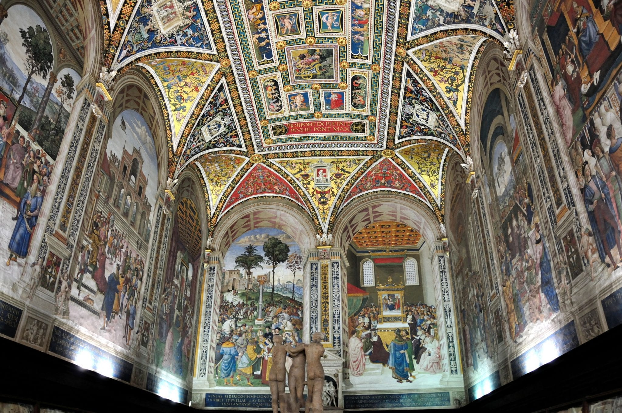 Piccolomini Library in Duomo of Siena