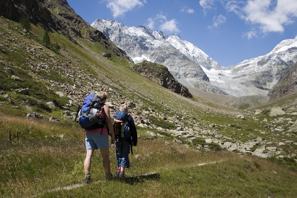 What to pack if you're going for a hike traveling in Italy