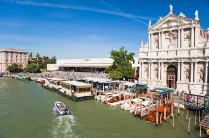 Venice's Santa Lucia train station