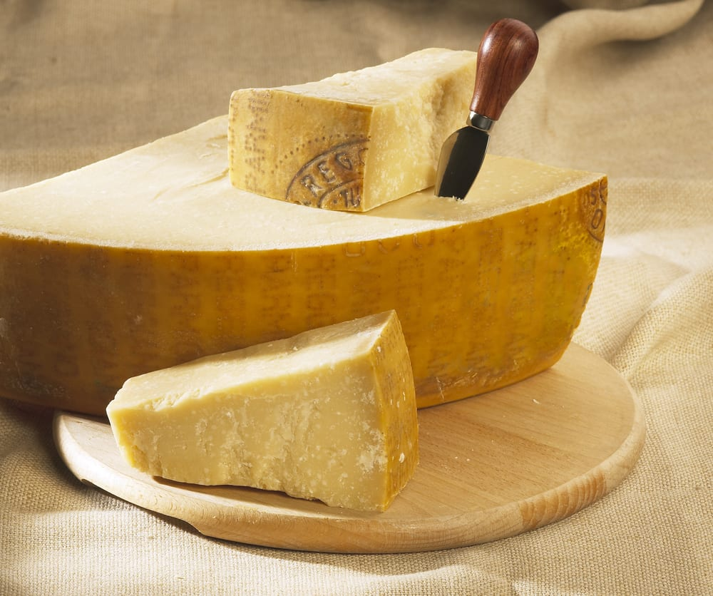 Even if you don't tolerate lactose, hard, aged cheeses like Italy's Parmigiano are probably okay