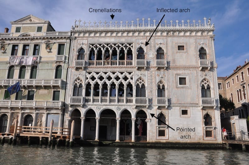How to read venice s palaces walks of italy blog for Architecture venise