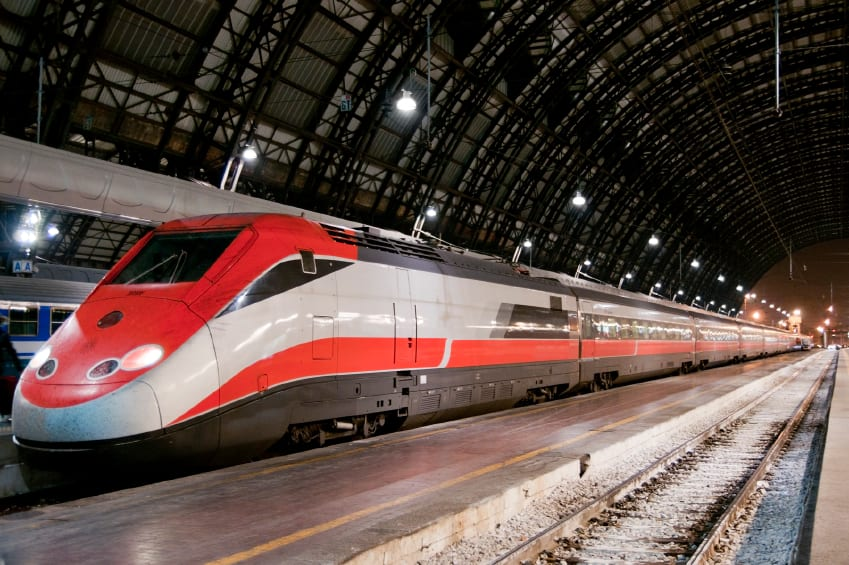 If you want to save money, consider the Italian rail system