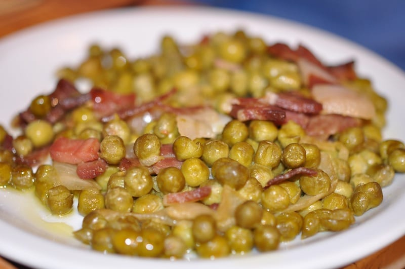 Don't miss this Emilia-Romagna dish, peas with bacon!