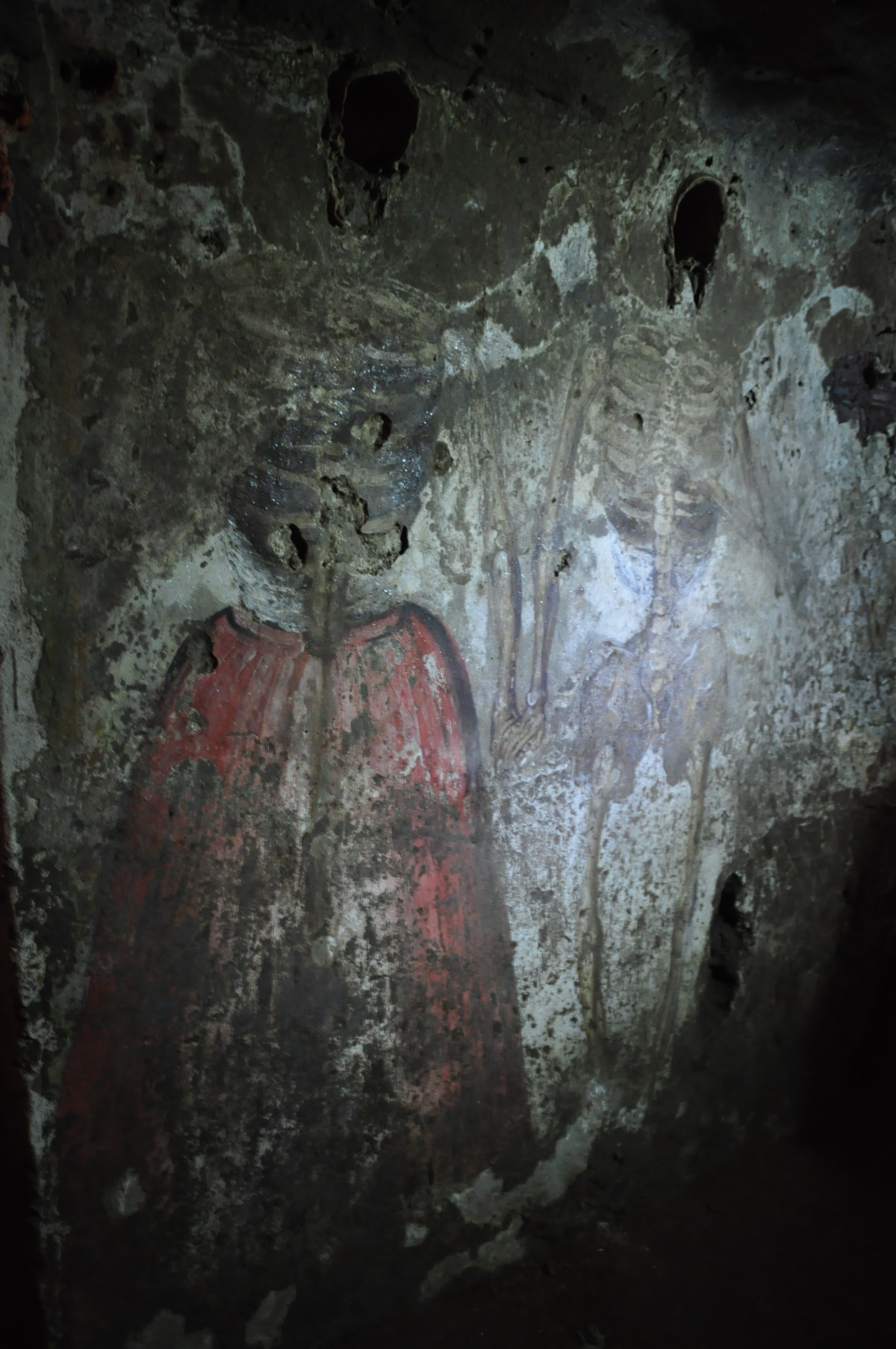 Some of the spookiest catacombs in Italy