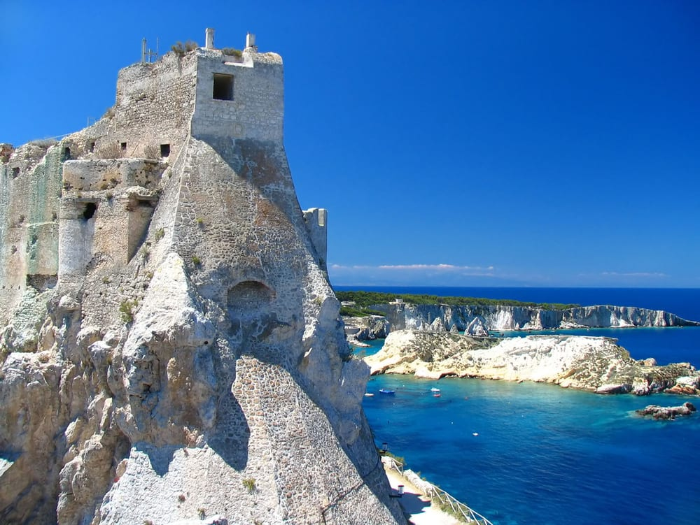 Castle in Puglia, southern Italy