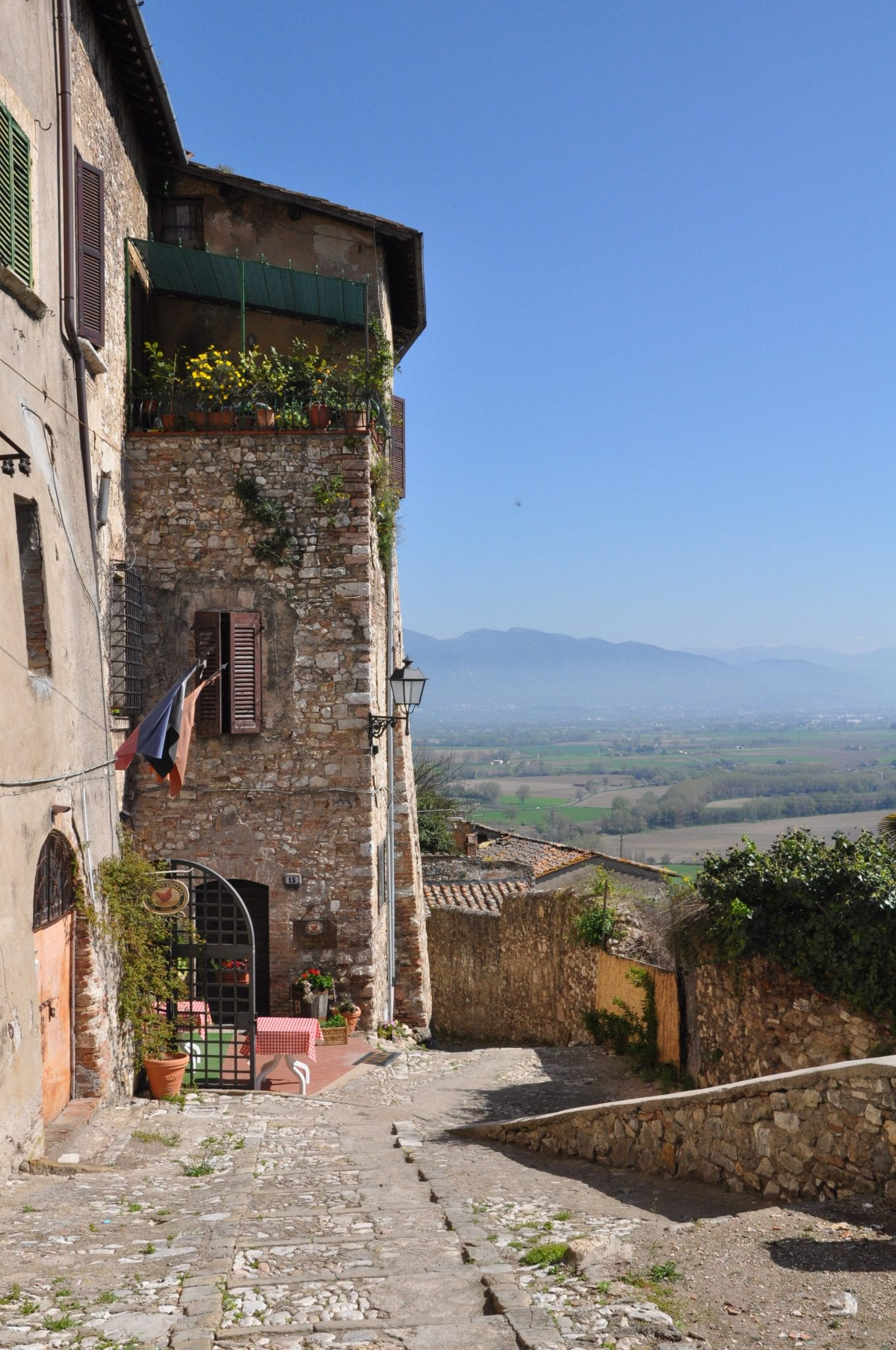 Narni, Umbria, where you have to get by bus