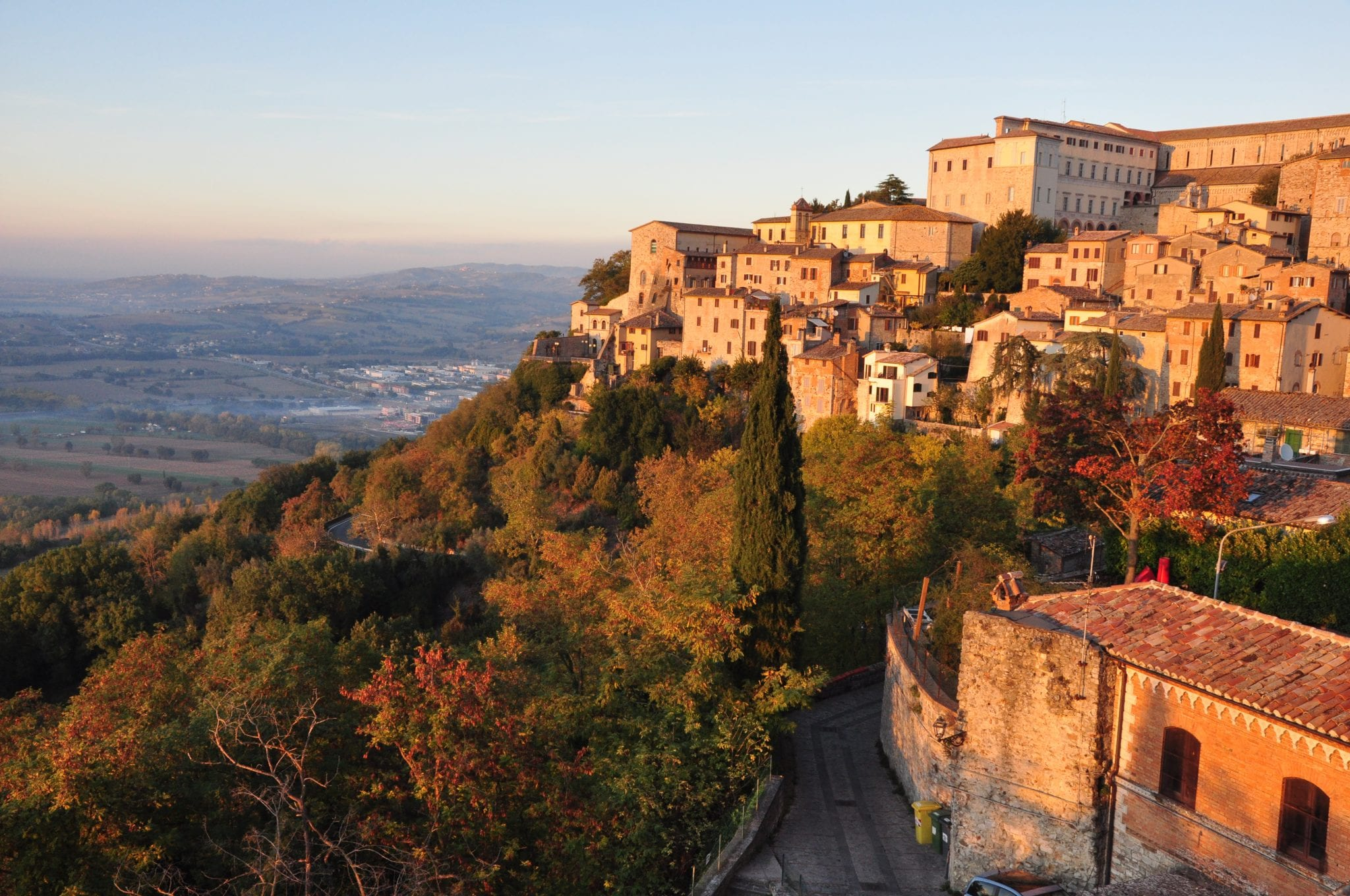 Beautiful Umbrian town of Todi
