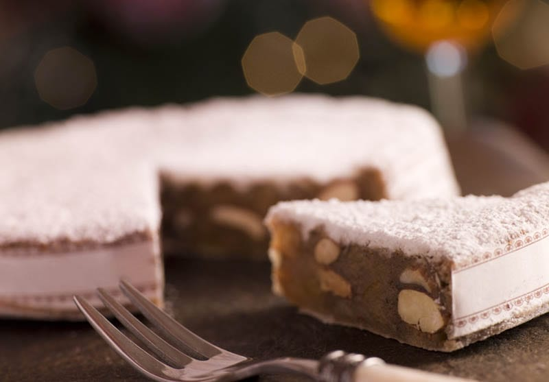 One of the sweet Italian Christmas breads