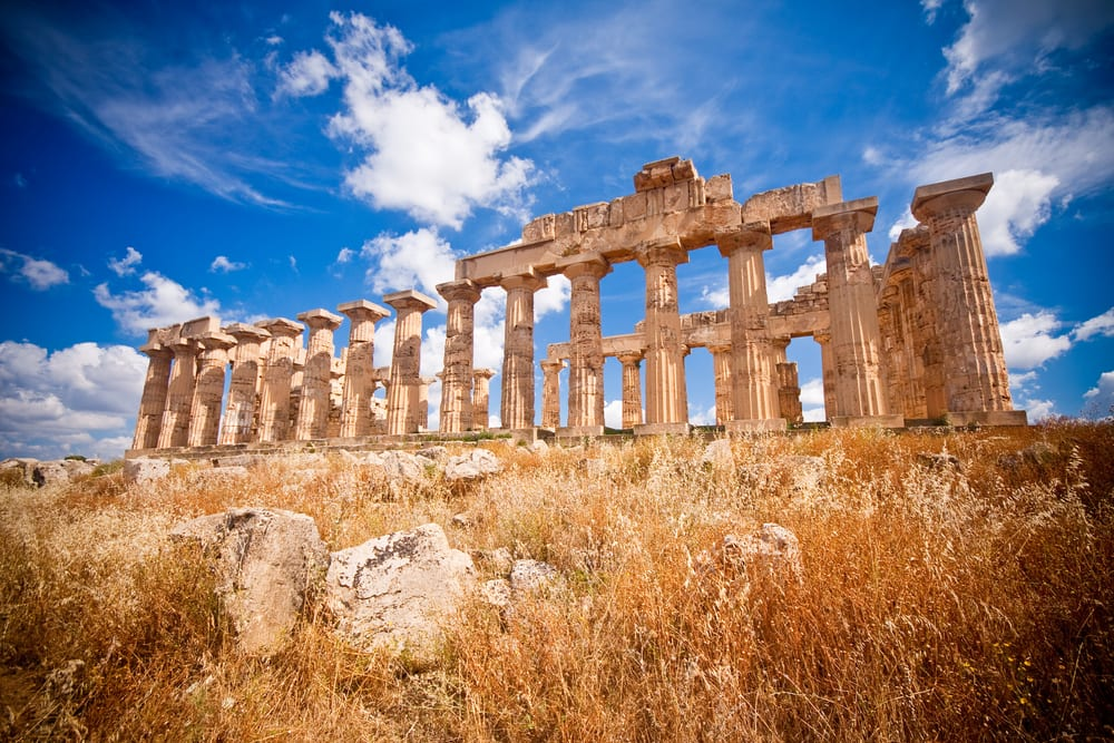 Ancient Greek temples in Sicily