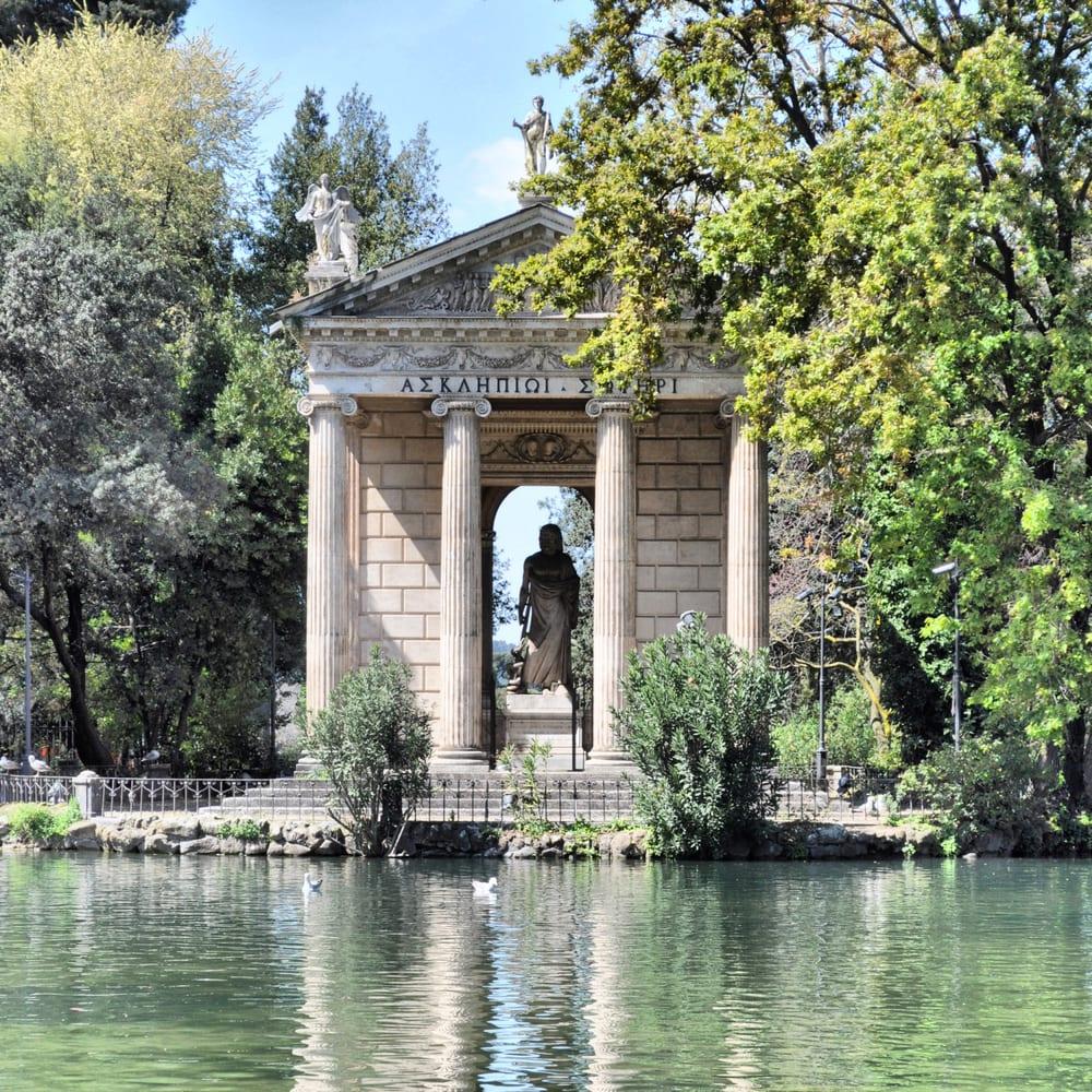 Parks in Rome: Villa Borghese