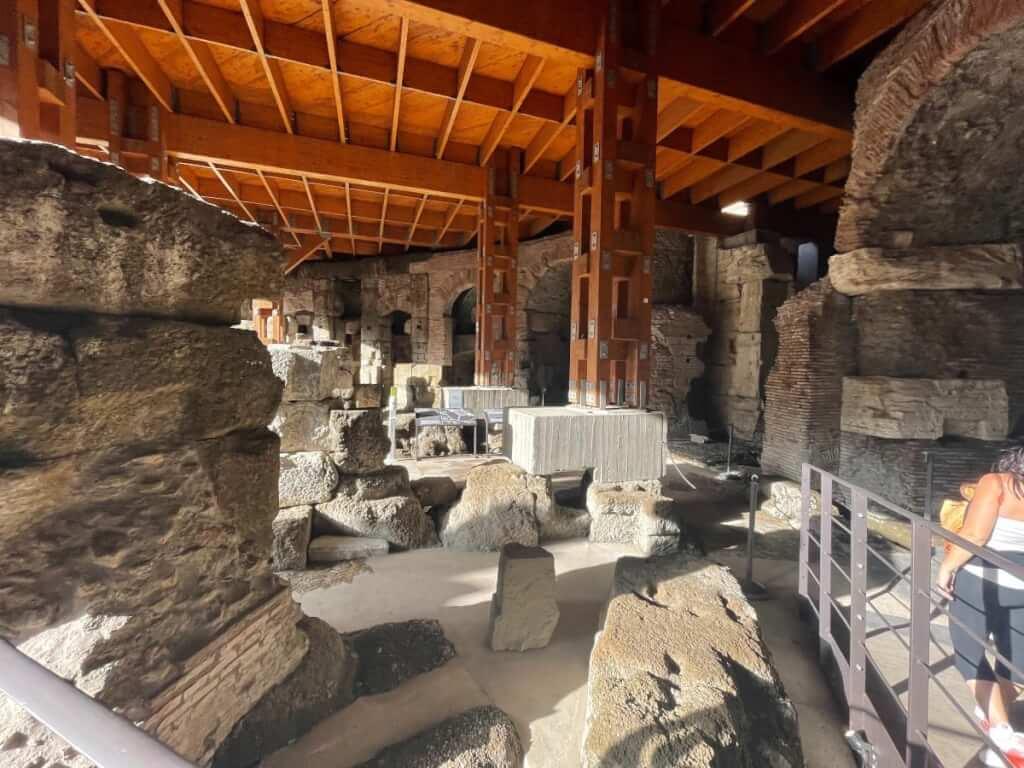 Colosseum Underground new areas reopen