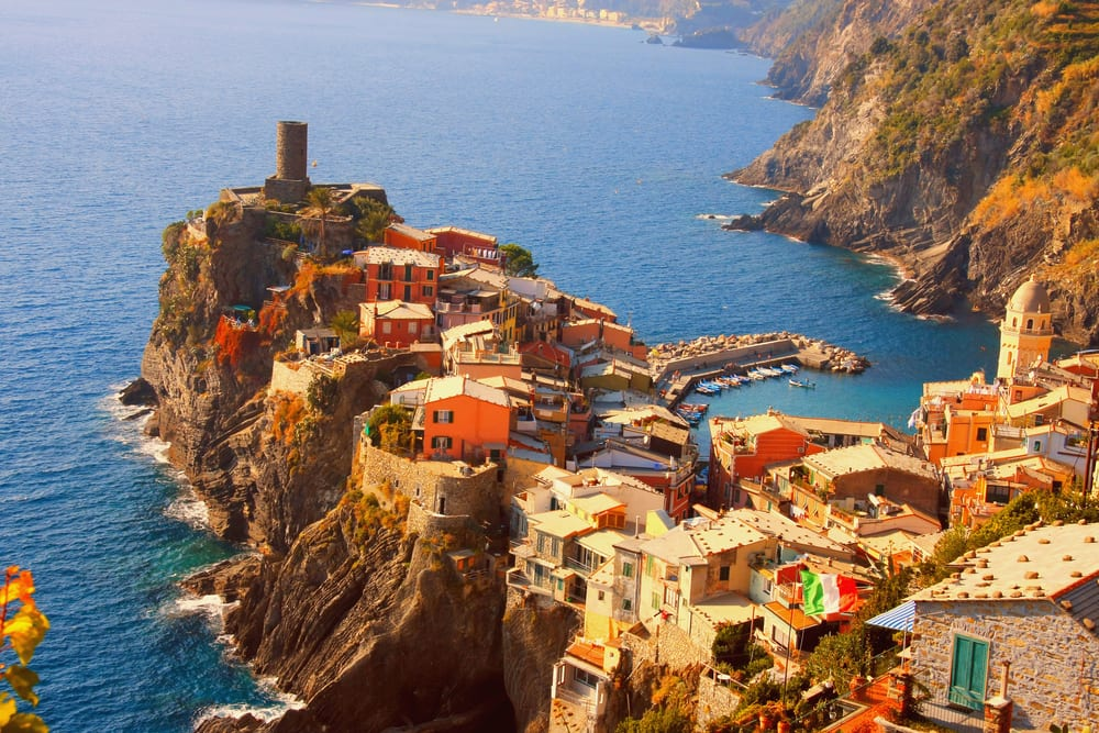 Beautiful Vernazza, on the Cinque Terre