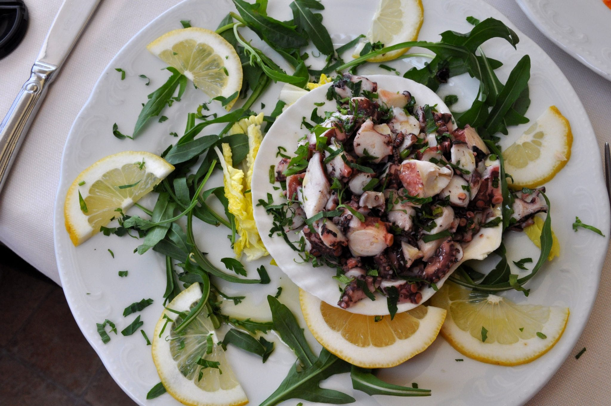 A reason to love the Amalfi coast: the seafood!