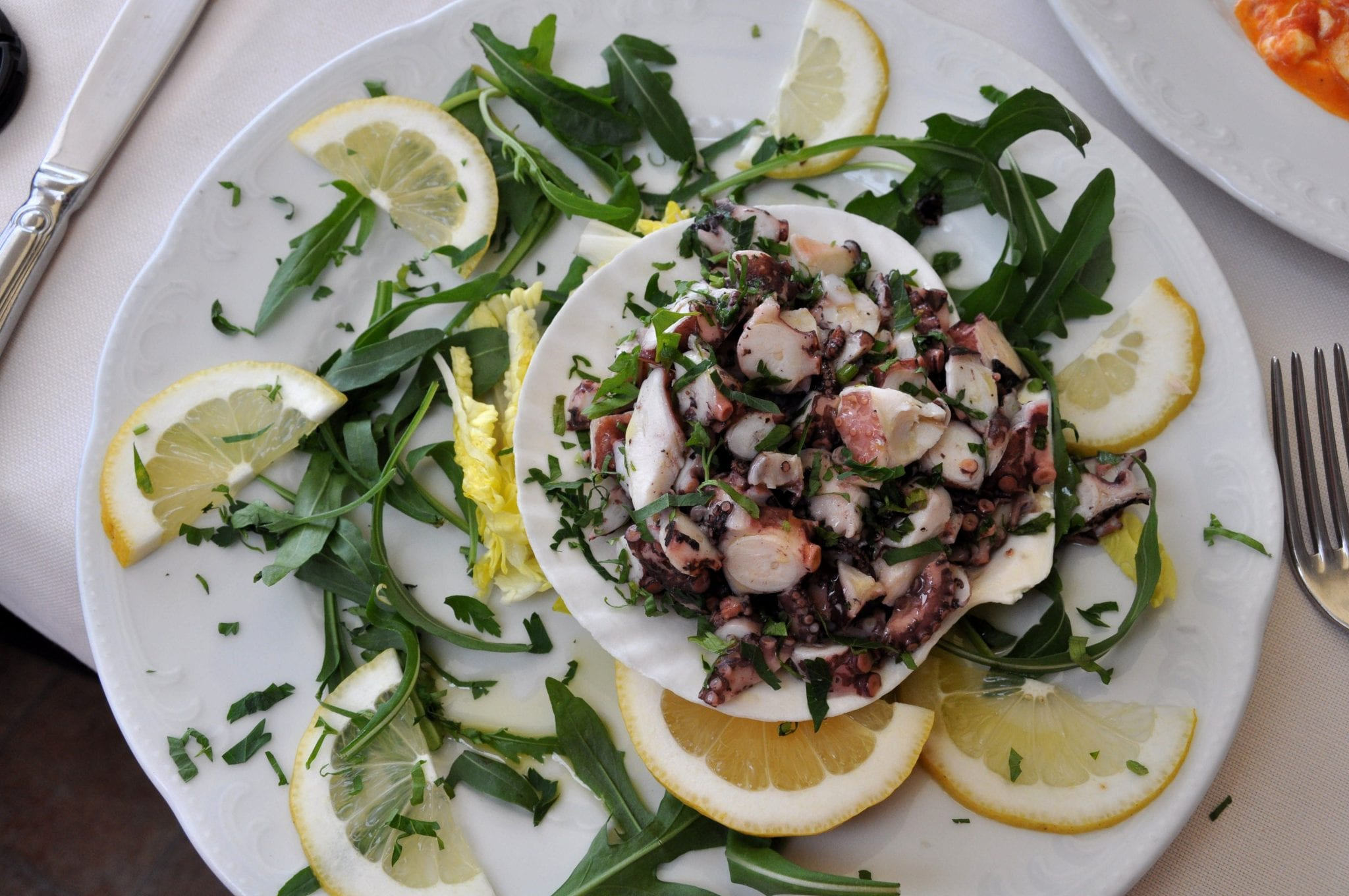 Octopus, a sustainable seafood in Italy