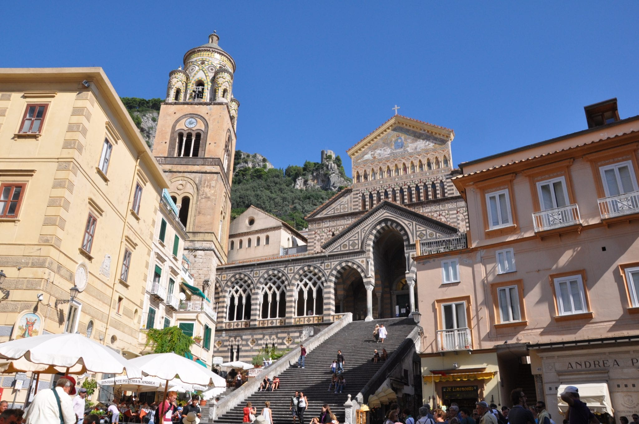 St. Andrew's Cathedral in Amalfi town