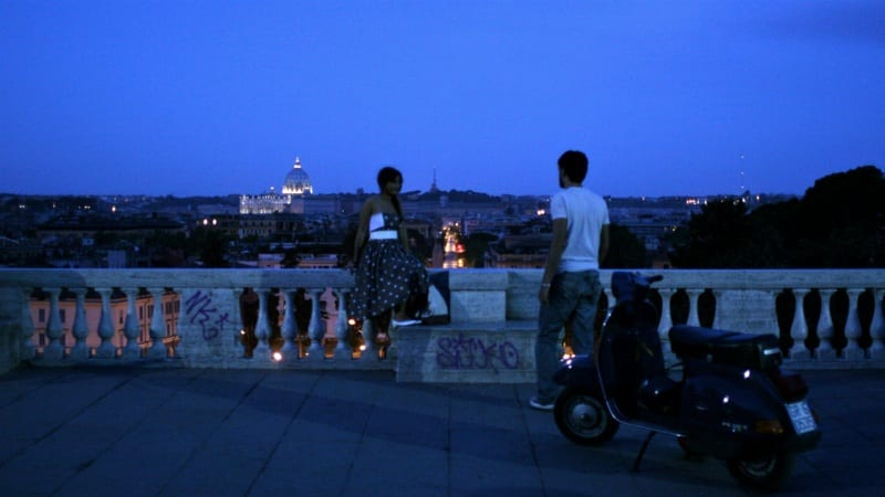 Still from a gorgeous short film in Rome