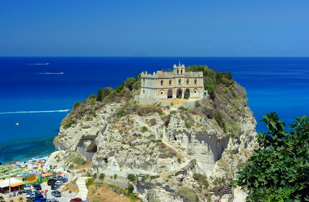 Beautiful Tropea in Calabria, Italy