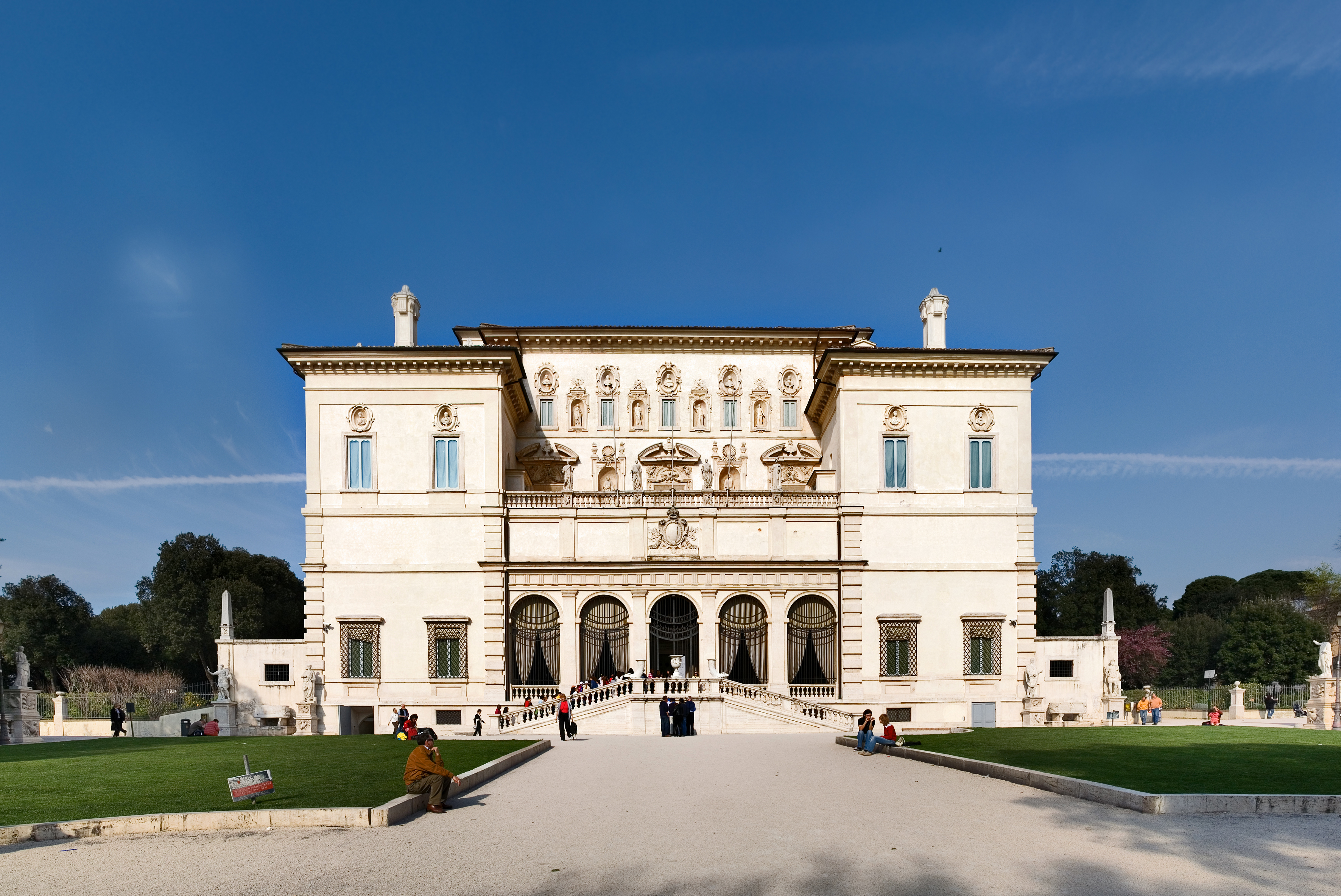 The Borghese Gallery, one of the Rome museums that will now be closed on Sundays and holidays