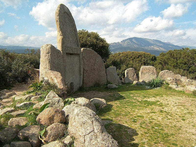 Giants' graves of Sardinia