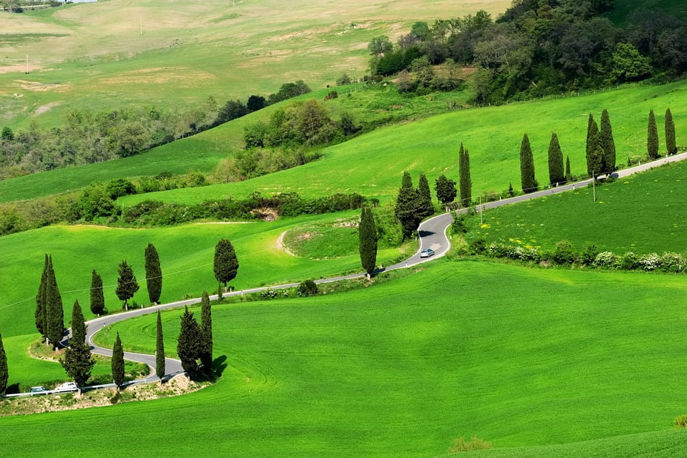 The best of the italian countryside in pictures walks for The italian