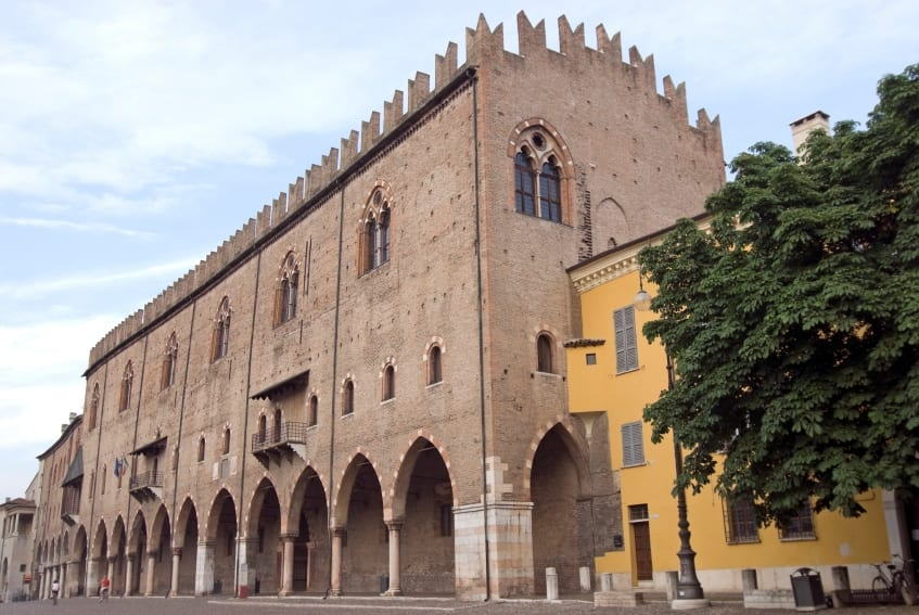 UNESCO World Heritage Sites in Northern Italy - Mantua - Palazzo Ducale