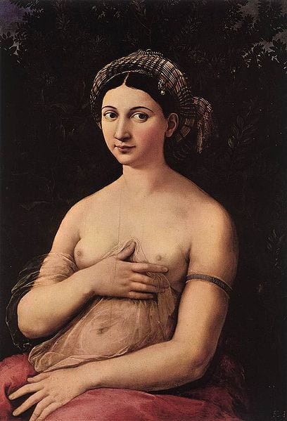"Raphael's famed portrait, ""La Fornarina,"" may be of his lover—but that's only one secret that the painting hides..."