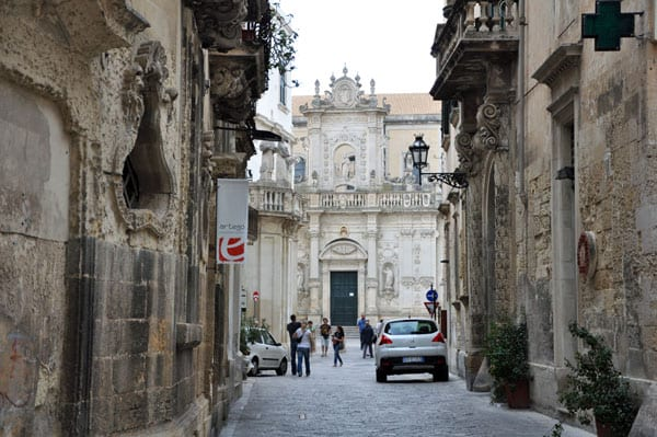 Lecce, Puglia is one of the most beautiful medieval cities in the south of Italy