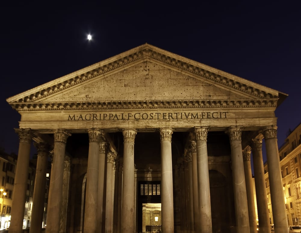 The Pantheon, one of the most fascinating, and mysterious, buildings in Italy!