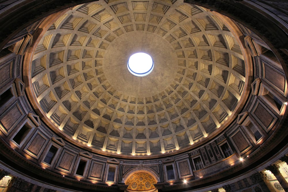 Roman Architecture Domes Throughout Inspiration