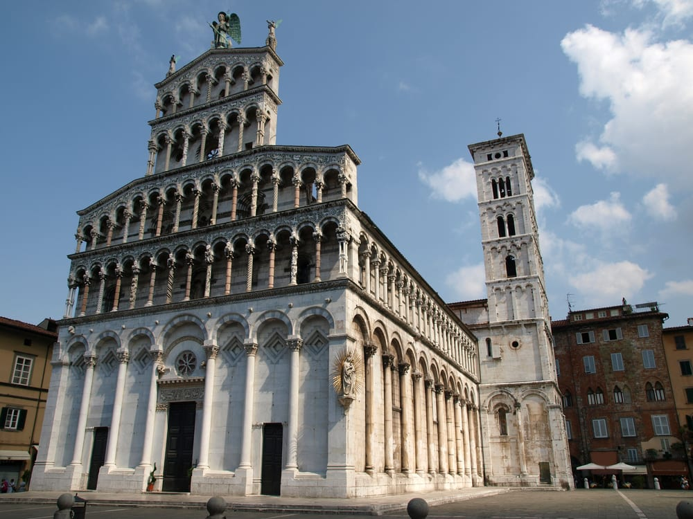 San Michele in Foro, one of Lucca's many beautiful buildings