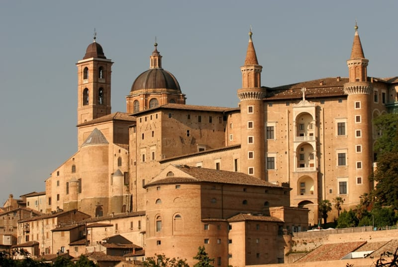 Unesco site central Italy Le Marche