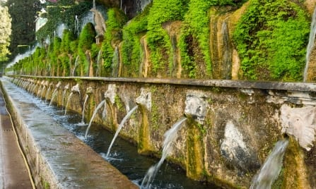 UNESCO World Heritage Sites in Central Italy - Villa d'Este, Lazio