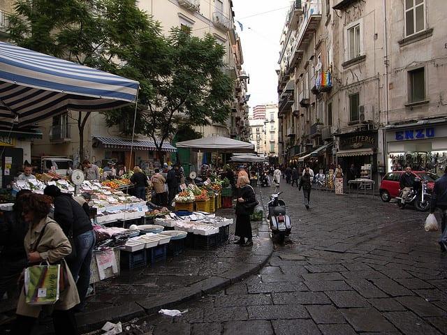 Pignasecca Food Market Naples