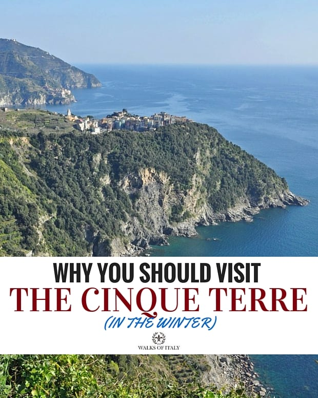 The sheer cliffs of the Cinque Terre are incredible during the Winter. Find out why you should visit the Cinque Terre in the Off Season.