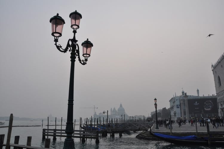 Venice in February: chilly, foggy, and beautiful