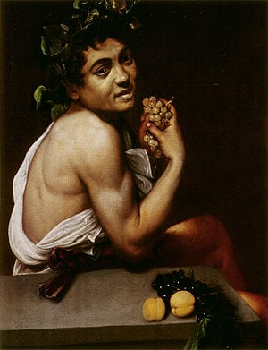 "Caravaggio's ""Sick Bacchus,"" in the Galleria Borghese"