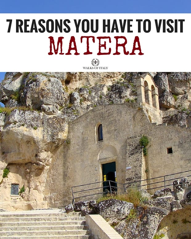 The Church of Madonna di Idris in Matera, is literally built into the side of a mountain. Find out why you can't go to Italy without visiting this incredibly unique city!