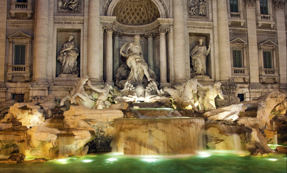 Rome's Trevi fountain... is getting a facelift!