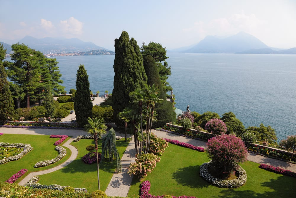 Italy's lakes (and their villas), like Isola Bella on Lago Maggiore, are especially gorgeous in springtime