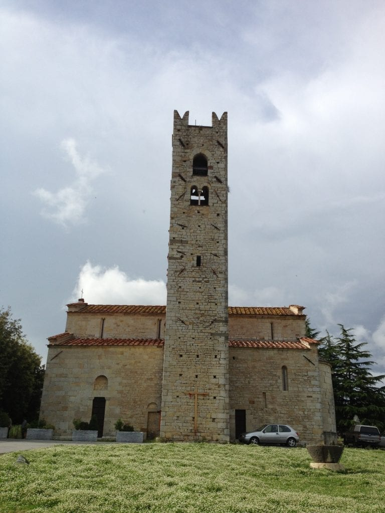 Romanesque Church at Pieve a Elici