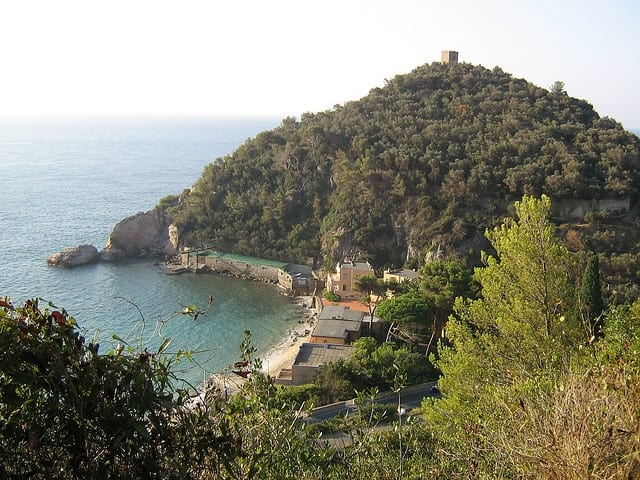 Great beach in Liguria