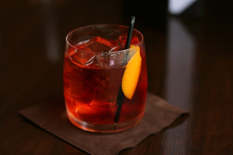 Try one of Italy's great cocktails, the Negroni Sbagliato. | Photo by Geoff Peters