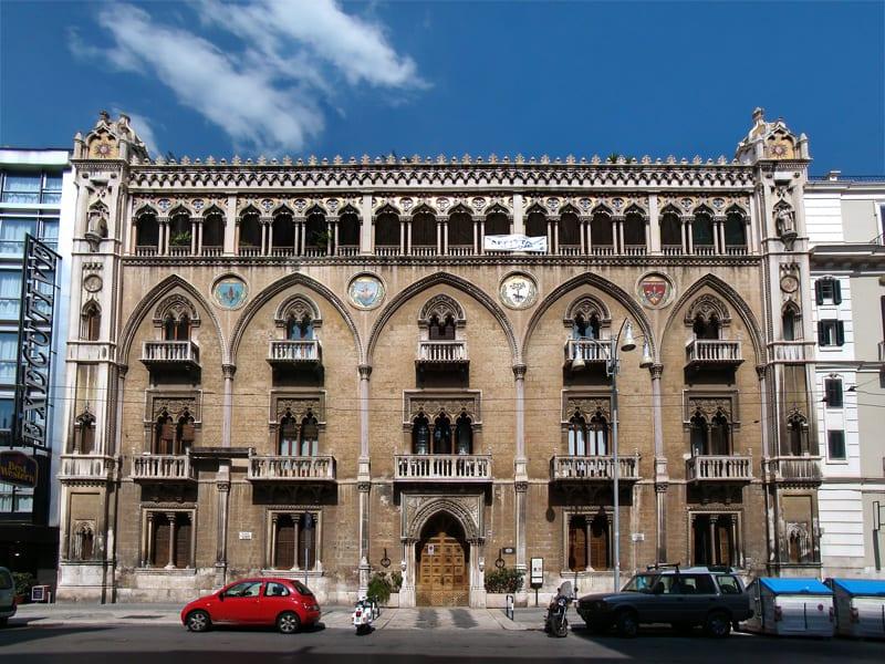 Palace in Bari Puglia