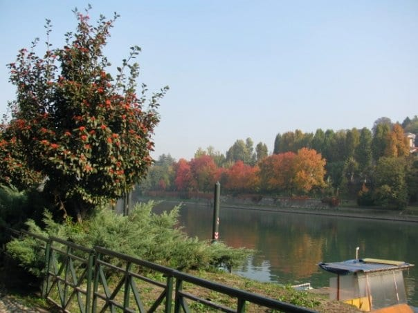 River Po in Turin in Italy